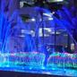 千葉県勝浦市勝浦ホテル三日月様のイルミネーション電飾業務用の施工例